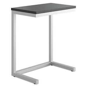 Hon Occasional Cantilever Table 24w X 15d X 20 3 4h Black silver Bsxhml8858p