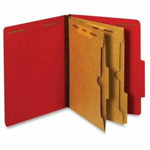 Pendaflex Pocket Divider Classification Folders Letter 8 1 2 X 11