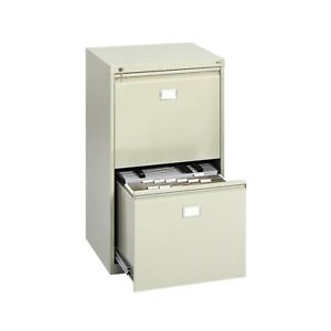 2 drawer Vertical File Cabinet Tropic Sand