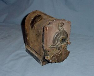Vintage Antique Bosch D4 Brass 4 Cylinder Magneto Model T Ford Reo Buick Maxwell