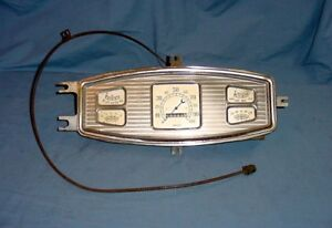 Vintage Speedometer Gauge Dash Cluster 1933 Dodge Brothers Rat Rod Scta Mopar