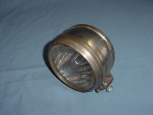 Large Vintage Antique Drum Cowl Parking Light Locomobile Pierce Arrow Marmon