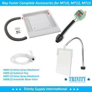 Ray Foster Complete Accessories For Wet Model Trimmer Mt10 Mt12 Mt15 Great New