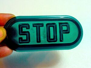 Green Stop Tail Light Lens Vintage Antique Car Truck Rat Rod Model T Ford Chevy