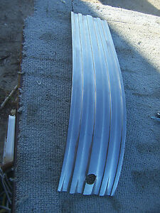 Will Ship Read Ad 1950 50 Pontiac Chieftain Silver Streak Trunk Trim Rechromed