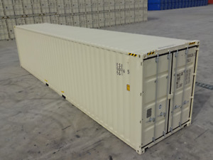 40 high Cube One Trip Houston Shipping Container Box Storage Reprocessing