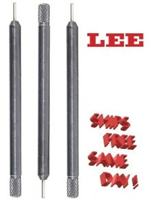 RE1565 Lee Decapping Pin for LEE Classic Loader 9mm 357 Mag 38 Spl 3-Pack New!