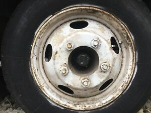 19 5 Inch Dually 5 Lug Dodge Wheel Rim Steel 440 Engine