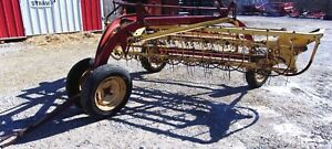 New Holland 256 Hay Rake Can Ship 1 85 Per Loaded Mile