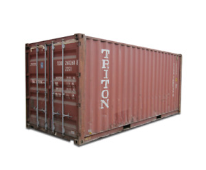 20 Cargo Worthy Container Houston Shipping Container Box Storage Reprocessing