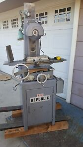Used Republic 6 X 12 Surface Grinder With Magnetic Chuck