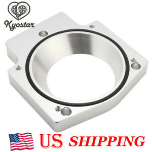 Aluminum Intake Manifold Throttle Body Spacer Adapter 92mm Ls1 Ls2 Ls4 Ls6 Lsx