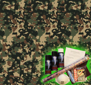 Hydrographics Dip Kit Activator Water Transfer Printing Sandstorm Camouflage