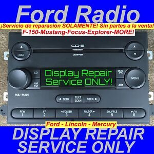 Repair Service 2006 2010 Ford Explorer Radio Display Only Am Fm Visteon