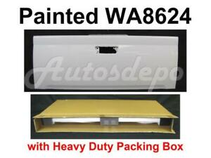Painted Wa8624 Summit White Tailgate For Chevy Colorado 2004 2012