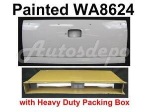 Painted Wa8624 Summit White Rear Tailgate For Chevy Silverado Stepside 1999 2006