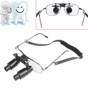 Dental Loupes 6 5x 300 500mm Medical Surgical Glasses Loupe Lens Magnifier Ce