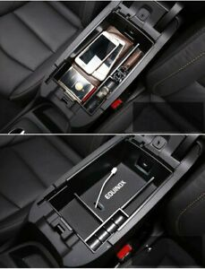For Chevrolet Equinox 18 19 Armrest Storage Box Glove Pallet Center Console Tray