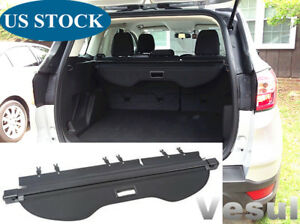 Fit For Ford Escape 13 2019 Rear Cargo Cover Retractable Tonneau Shade Updated
