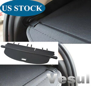For 2014 2020 Nissan Rogue S Sv Sl Retractable Trunk Cargo Cover Security Shield