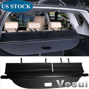 Fit For Toyota Rav4 2013 2018 Suv Retractable Trunk Cargo Cover Luggage Shade