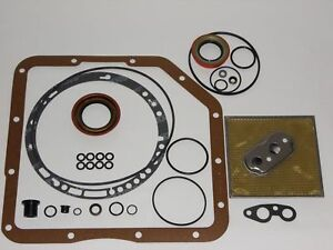 Turbo Th Thm 350 350c Transmission External Seal Gasket Reseal Kit With Filter