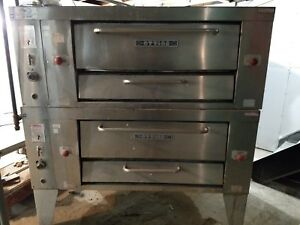 2 Commercial Gas Heat Ovens For Pizza Works Perfect Best Price Check Pictures