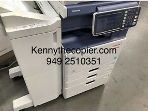 Toshiba Estudio copier color e4555c 55ppm Copy print pdf scan
