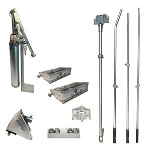 Pro Platinum Drywall Tools Finishing Set Of W 8 And 10 Flat Boxes