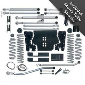 3 5 Inch Jeep Tj Lift Kit Extreme Duty Long Arm System W Mono Tube Shocks 97 02