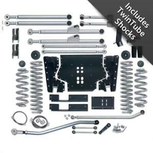 3 5 Inch Jeep Tj Lift Kit Long Arm System W Twin Tube Shocks 97 02 Wrangler Tj