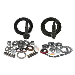 Yukon Gear And Install Kit Ford Front Dana 60 And 99 Up Gm 14 Bolt 4 56 Thick