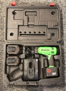 Snap on ct4410ag 3 8 dr 14 4v Cordless Impact Drill W Charger