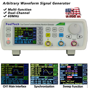 60mhz Function Arbitrary Waveform Pulse Analog Digital Generator Vco Sweep