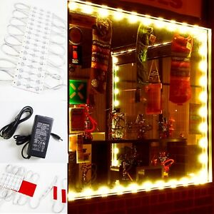 40ft Brightest Storefront Led Light Orange 5630 Ul Listed 12v Power Supply