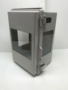 Outdoor Weatherproof Electrical Enclosure With Windows 6 X 7 X 11 Free Ship