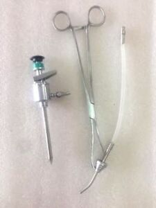 Laparoscopy Uterine Manipulator With Dyest And Trocar 5mm 10mm Any One