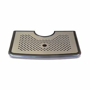 12 5 Stainless Steel Beer Drip Tray For Kegerator Towers By Redwood Brew Sup