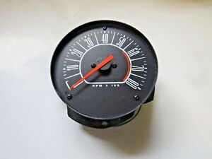 Mopar 66 Barracuda Cuda 1966 Dash Tach Tachometer New