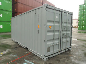 20 One Trip Columbus Shipping Container Box Storage Reprocessing Cargo