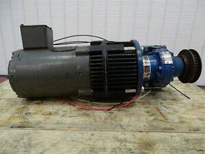 Baldor Vnm3538 Gearmotor 5hp 1725rpm 3ph 56cfr W sm Cyclo Reducer 17 1 Ratio