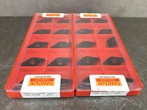 Sandvik Dnmx 432 wf 3215 Carbide Insert Turning Lot Of 20