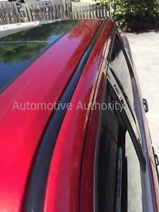 For 2004 2012 Chevy Colorado Black Roof Top Trim Molding Kit