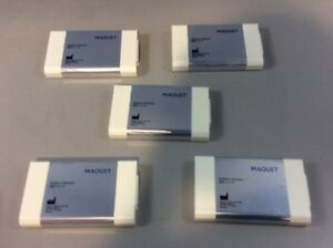 Maquet 64 87 180 Battery Modules Lot Of 5 1 Medical Healthcare Lab Servo