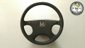 Jdm 92 96 Honda Prelude Bb4 4th Gen Oem Steering Wheel F20b H22a H23a