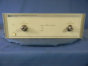 Agilent 8513a Reflection Transmission Test Set 30 Day Warranty