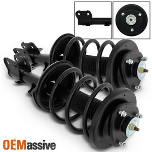 Fit 1999 2004 Honda Odyssey Front Complete Struts Coil Springs Assembly W mounts