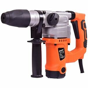 Electric Rotary Hammer Drill 1 1 2 inch 1000w Sds Chisel Bits Demolition Kit
