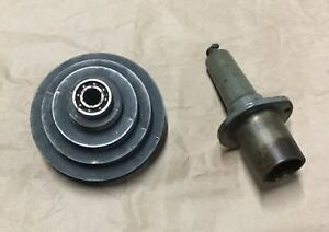 Vintage Walker turner 900 Series Drill Press Spindle Pulley Assembly And Cap