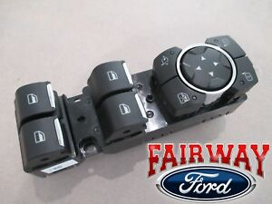 15 Thru 20 F 150 Oem Ford Power Window Switch For Power Fold Trailer Tow Mirrors